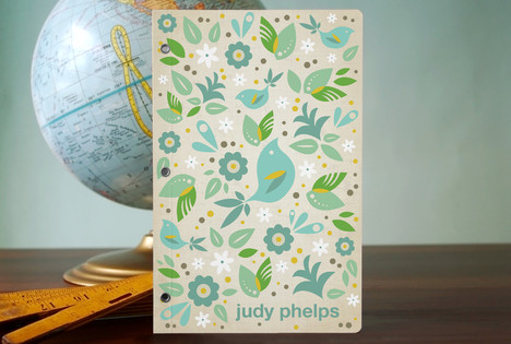 minted blue bird Paper Addict for Life {Minted Review and Giveaway}