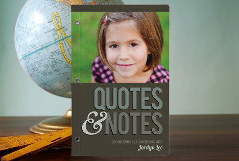minted quotes and notes Paper Addict for Life {Minted Review and Giveaway}