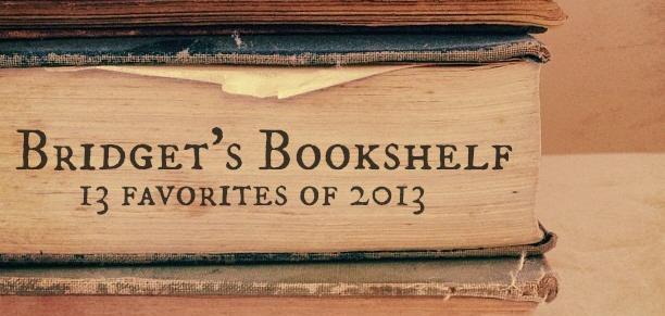 bridget's bookshelf 2013a
